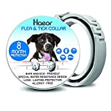 HAEOR Flea Collar and Tick Control for Dogs - Enhanced Natural Ingredients