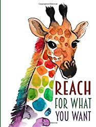 Reach For What You Want - A Pocket Journal: Giraffe
