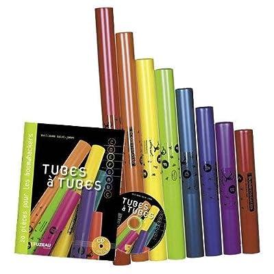 Fuzeau 70958 Méthode Tubes à Tubes + Jeu de Boomwhackers
