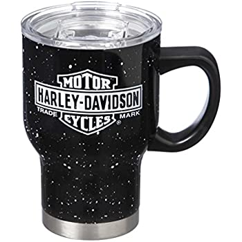 Amazon Com Harley Davidson Double Wall Stainless Steel