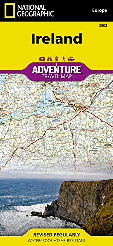 Ireland (National Geographic Adventure Map)...