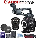 Canon EOS C100 Mark II Cinema Camera with Dual Pixel & Canon EF-S 17-55mm f/2.8 IS USM Lens Bundle