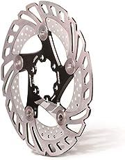 Brake pad Dou Rotore del freno a disco flottante 6 dadi in lega di alluminio freno a disco bici freno per la maggior parte delle bici da strada bici da mountain bike BMX MTB 160mm 180mm 203mm Accessor