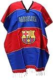 Barcelona Soccer Team Poncho Adult Size