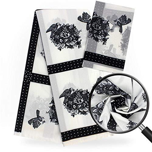 Imitated Silk Fabric African Print Fabric 5+2 Yard African Fabric Nigerian Ankara Fabrics 2019 Africain Tissu Wax,Same As Picture3