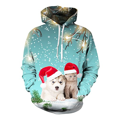 Ugly Christmas Cats Sweatshirt