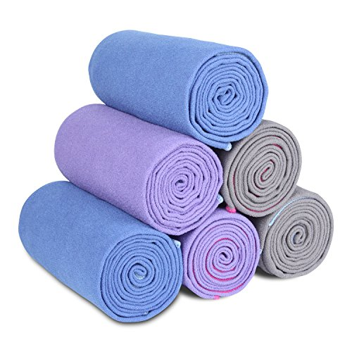 Luxury Sweat Grip Mat Towel: Aimerday Premium Yoga Mat Towel Non Slip With Grip Hot