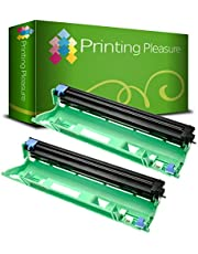 Printing Pleasure 2 Laser Drum Units compatible with Brother DCP-1510, 1510E, 1512, 1512E, 1610W, 1612W, HL-1110, 1110E, 1112, 1112E, 1210W, 1212W, MFC-1810, 1810E, 1910W | DR1050