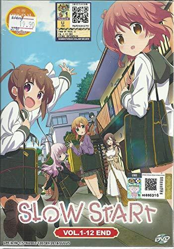 SLOW START - COMPLETE ANIME TV SERIES DVD BOX SET (12 EPISODES)
