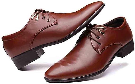 Herren Business Anzugschuhe, Spitzschuhe England Stil