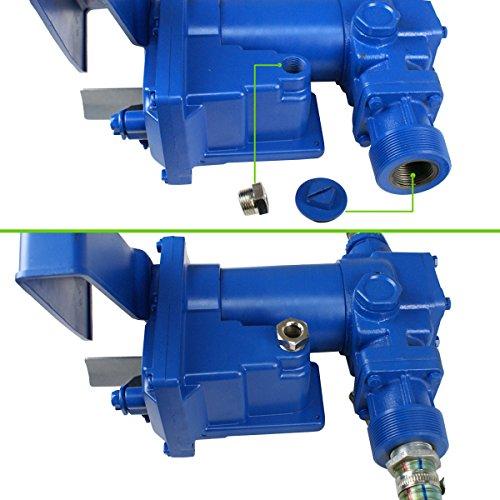 Super Deal Gasoline Fuel Transfer Pump 12 Volt DC 20GPM Gas Diesel Kerosene Nozzle Kit by SUPER DEAL (Image #6)