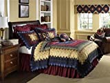 Donna Sharp Chesapeake Trip Around the World Deluxe King Quilt by