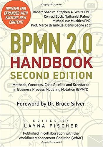 bpmn 20 handbook second edition methods concepts case studies and standards in business process modeling notation bpmn amazoncouk dr michael zur - Bpmn For Dummies