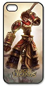 Personalized Protective Case for iPhone 5/5S - Game League of Legends Wukong the Monkey King Designed by HnW Accessories