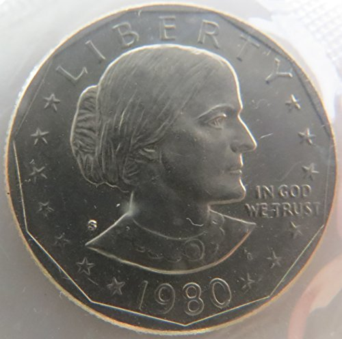1980 S Susan B. Anthony Dollar Choice Uncirculated