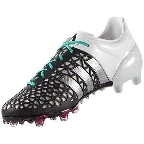 Zapatillas De Fútbol Adidas Ace 15.1 Fg / Ag Negras / Plateadas / Blancas (af5087) Negro / Plateado
