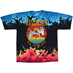 Led Zeppelin - U.S. Tour 1975 - Adult T-Shirt - Small