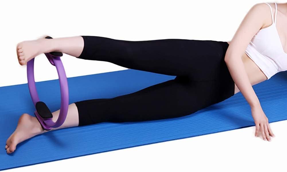 ZFLY-JJ Double poign/ée Pilates Yoga Pilates Anneau de r/ésistance Magic Ring Fitness Circle Double Grip Magie Exercice Fitness Circle tonification Cuisses for Tonique et renforcement