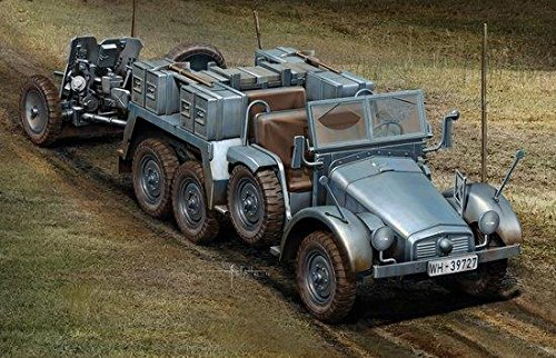 1/72 Kfz.69 6x4 Truck & 3.7cm PaK 35/36 - Cannon Pak