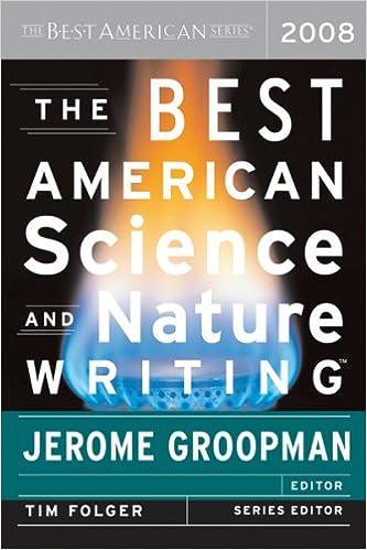 Livre audio gratuit avec téléchargement de texte The Best American Science and Nature Writing 2008 B001TODO8Q (Littérature Française) PDF