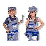 Melissa & Doug Train Engineer Role Play Costume Dress-Up Set (7 pcs)