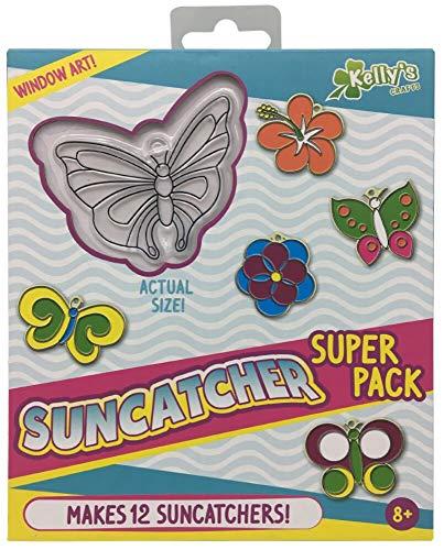 Suncatcher Super Pack - Butterflies and Flowers - Makes 12