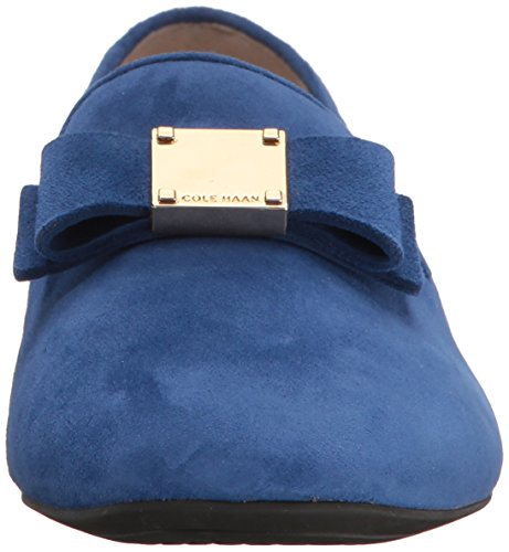 Cole Haan Womens Tali Bow Loafer Limoges Suède