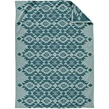 Pendleton Organic Cotton Jacquard Blanket Yuma Star/Sky, Queen
