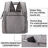 Yodo Convertible Baby Diaper Bag with Stroller