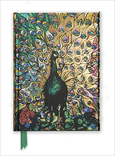 0d493d6f06 Tiffany: Displaying Peacock (Foiled Journal) (Flame Tree Notebooks)  Hardcover – Illustrated, 15 Apr 2011