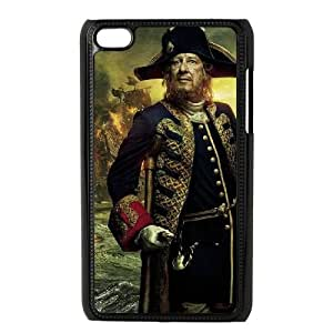 Pirates of the Caribbean iPod Touch 4 Case Black tjhz