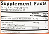 Now Foods Hyaluronic Acid with MSM, 120 Vcaps