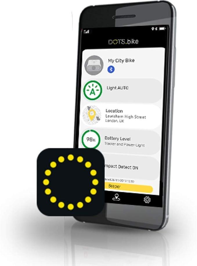 Vodafone V-Bike Smart Tracker GPS y Dispositivo de Seguridad para Bicicleta, con 6 Meses de Servicio incluidos, Negro