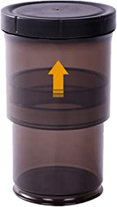 Xicennego Waterproof Collapsible Airtight Container BPA FREE Kichen&Pantry Organization Airtight Food Storage Containers with Lids Push Down To Remove Air 48 to 19 OZ(coffee)