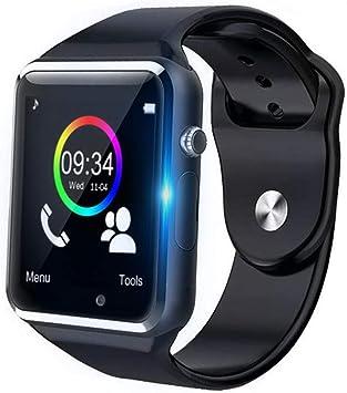 Anding Smartwatch,Reloj Inteligente Android con Ranura para ...