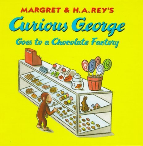 Hardcover:Curious George Goes to a Chocolate Factory (Curious George 8x8)