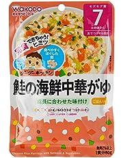 Wakodo Chinese Rice Porridge With Salmon and Vegetables, 80G