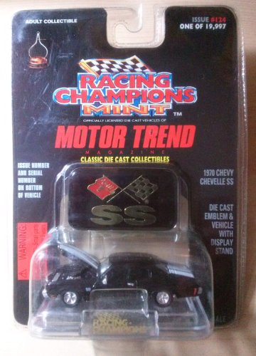 Chevelle Collectibles (1970 Chevy Chevelle SS Issue #158 1 of 19,998 Adult Collectible 1:64 Scale Racing Champions Mint Motor Trend Magazine)