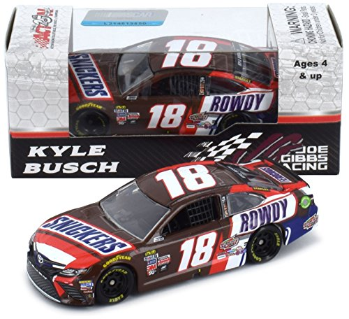 Lionel Racing Kyle Busch 2017 Snickers Rowdy NASCAR Diecast 1:64 Scale by Lionel Racing