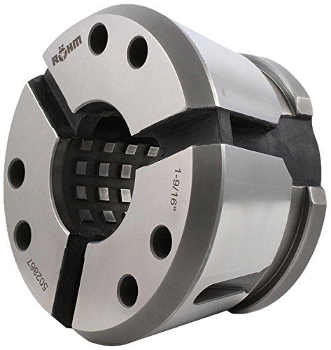Röhm 502882 Top Grip BZI Clamping Head Collet GT65-Round, Serrated-D2-1/2, 58 mm Long ()