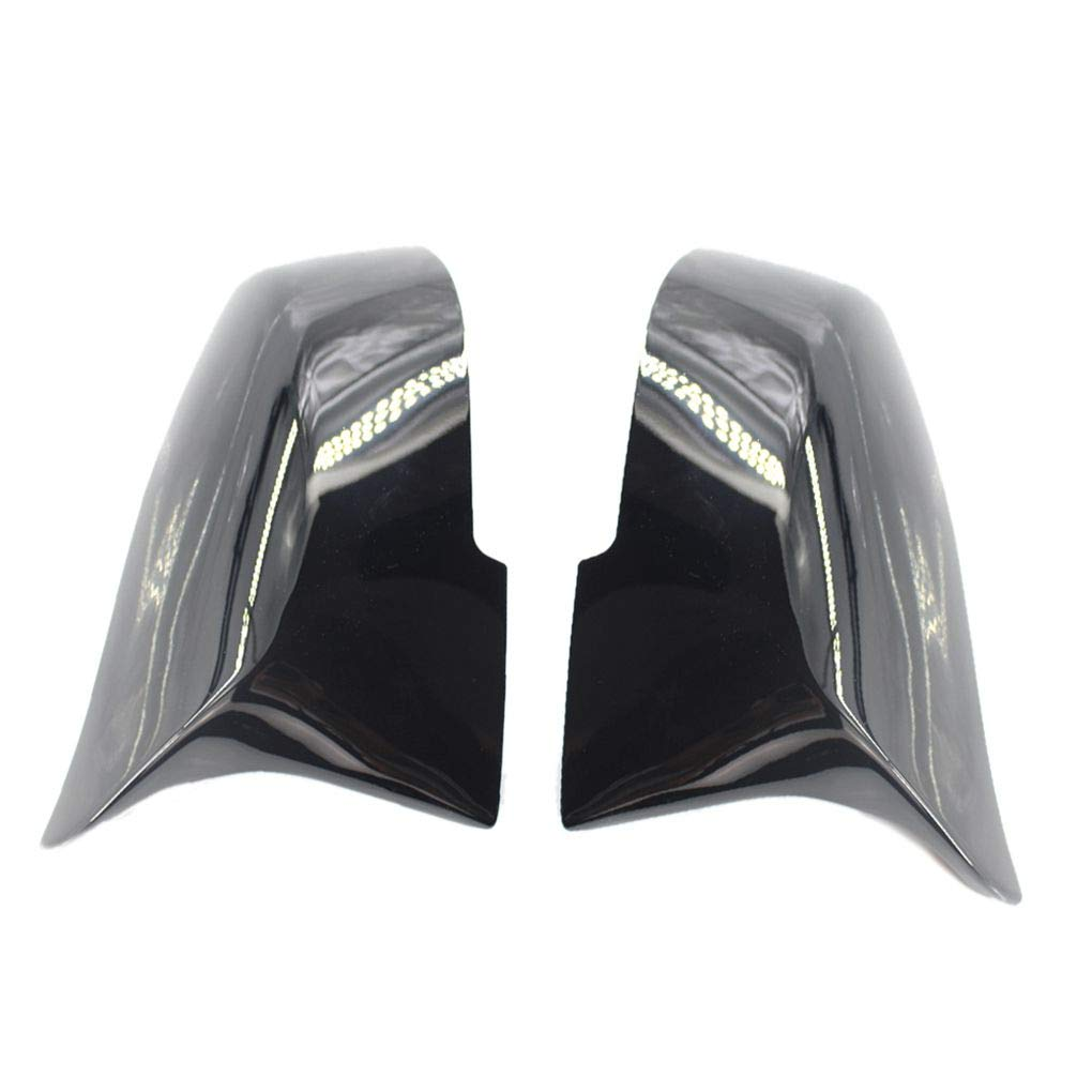 Four 1 Pair Right/Left Side 51167292745 51167292746 Automobile Rearview Mirror Cover Replacement for BMW F30 13-18