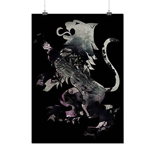 rampant-lion-scotland-wild-flag-matte-glossy-poster-a3-12x17-inches-wellcoda