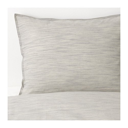 IKEA King size Duvet cover and pillowcases, beige - Cover Ikea King Duvet Size