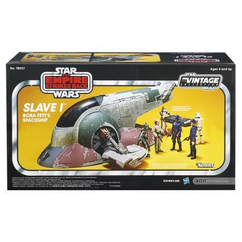Game/Play Star Wars The Empire Strikes Back Slave I Boba Fett's Spaceship Vehicle [Amazon Exclusive] Kid/Child
