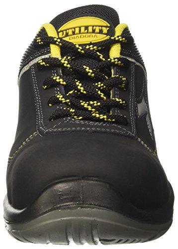 Diadora Blitz Low S3, Chaussures de Travail Mixte Adulte Noir (Nero)