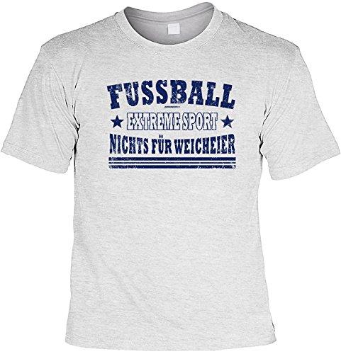 T-Shirt - Fussball - Nichts für Weicheier - lustiges Sprüche Shirt als Geschenk für Fußballer mit Humor