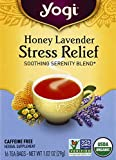Yogi Tea, Honey Lavender Stress Relief, 16 Count, Packaging May Vary