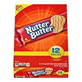 Nutter Butter Peanut Butter Sandwich Cookies, 12-Pack Box (Pack of 4)