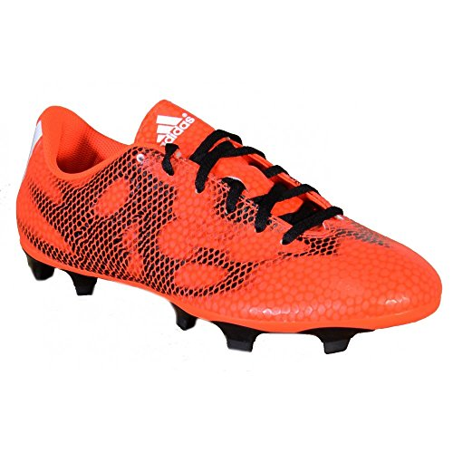 Adidas - Adidas F5 FG Fußballschuhe Rot Leder B34862 - Rot, 40,5