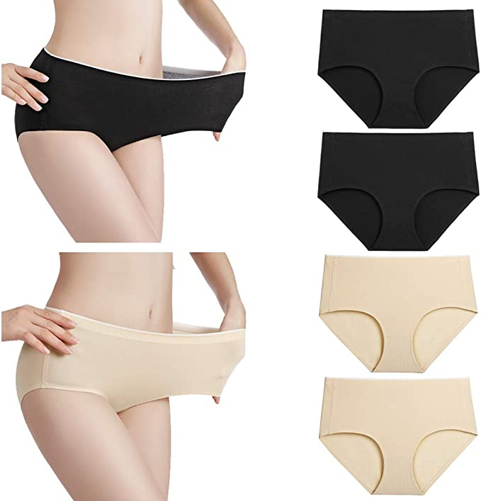 Yours Clothing Womens Ladies 5 Pack Multi Briefs Panties Pants 100/% Cotton Full